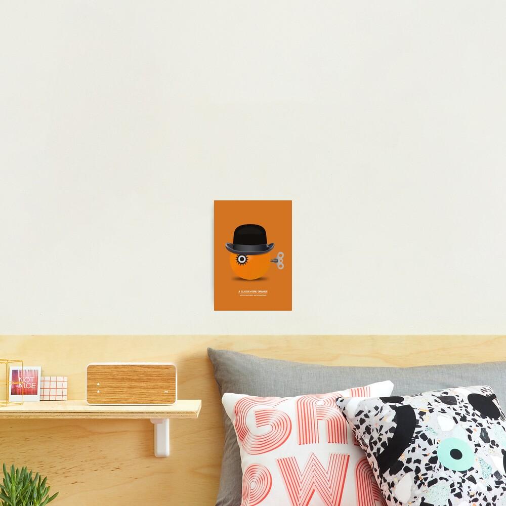 A Clockwork Orange - Alternative Movie Poster Photographic Print