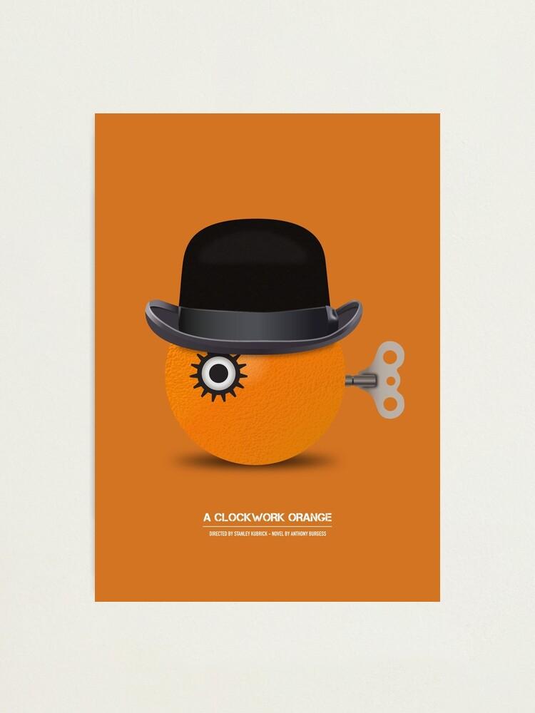 Alternate view of A Clockwork Orange - Alternative Movie Poster Photographic Print