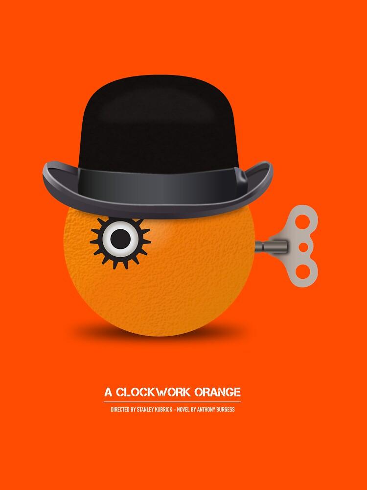 A Clockwork Orange - Alternative Movie Poster by MoviePosterBoy