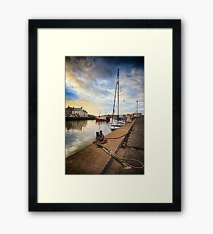 Eyemouth Harbour - Berwickshire, Scottish Borders Framed Print