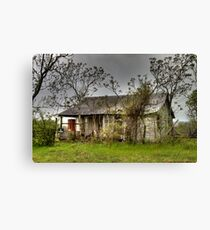 Deserted Farmhouse Canvas Print