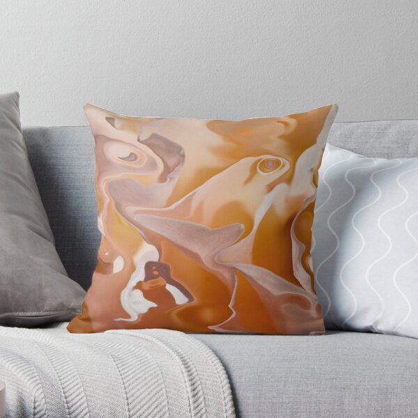 ethereal atmosphere Throw Pillow