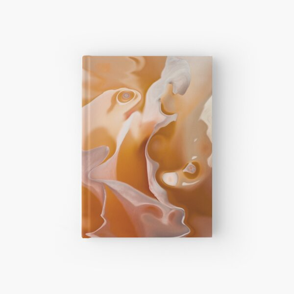 ethereal atmosphere Hardcover Journal