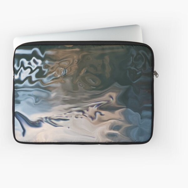 abstract sunset reflections Laptop Sleeve