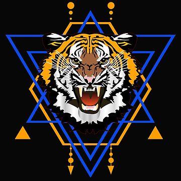 Mad Tiger by dechap