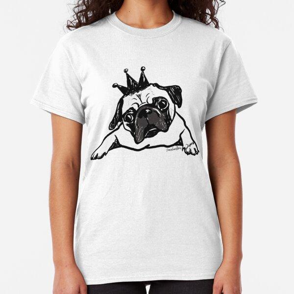 graceful shop Pug Tshirt Pugzilla Movie Poster Style Retro Gift for Men