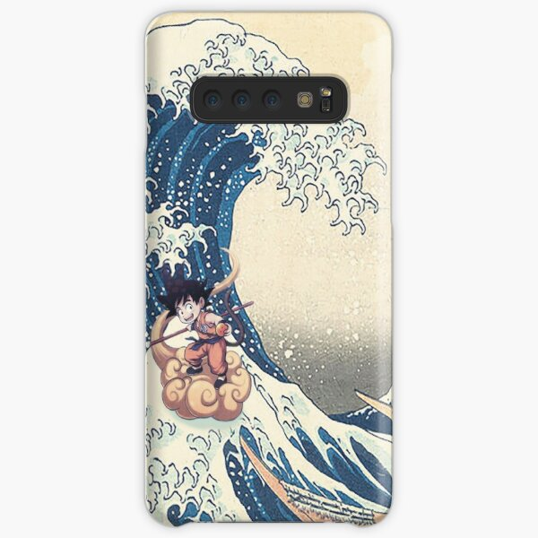 Dragon Ball Z - SonGoku Great Wave Kanagawa Japan Samsung Galaxy Snap Case