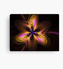 Etheral Flower Power Canvas Print