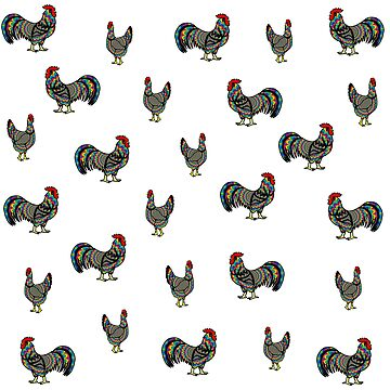 Psychedelic Chickens by imphavok