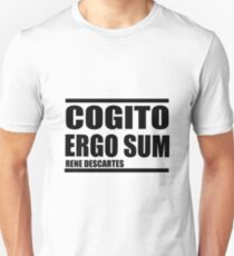 Cogito Ergo Sum (I think, therefore I am) T-Shirt