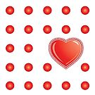 Dotty Heart by Namoh