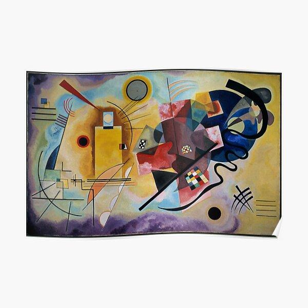 Kandinsky Inspiration Poster