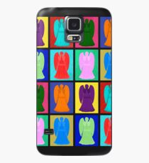 Weeping angels Pop Art Colour Case/Skin for Samsung Galaxy