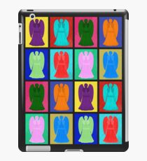 Weeping angels Pop Art Colour iPad Case/Skin
