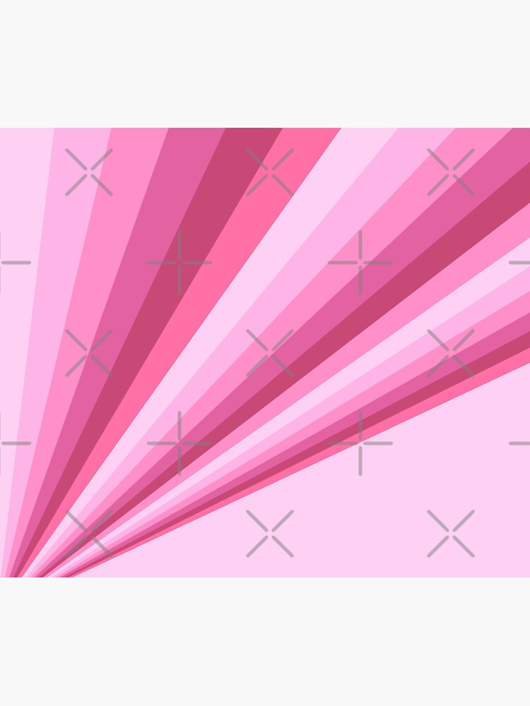Rays of Pink Diagonal Stripe Gradient by wordznart