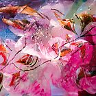 floral creation abstract by BBS ART