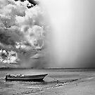 Fast coming rain by Vincent Riedweg