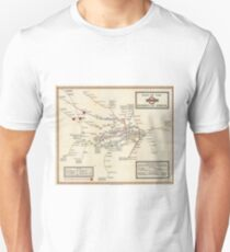 Vintage Map of The London Underground (1923) Unisex T-Shirt