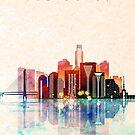 San Paolo City Skyline by DimDom