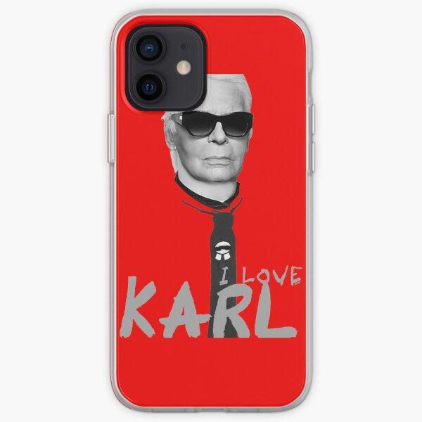 j'aime Karl Coque souple iPhone