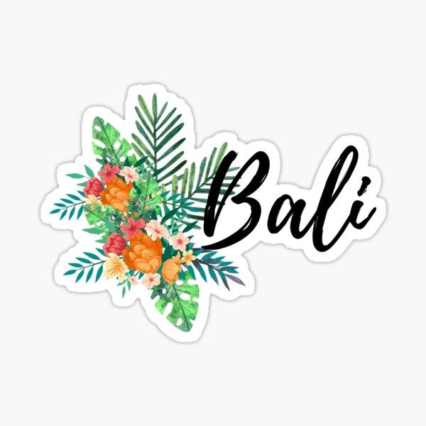 Floral Bali Sticker