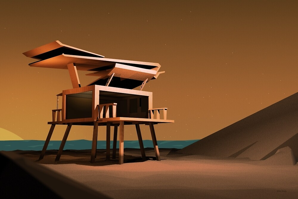 Cabin by Mike Healy