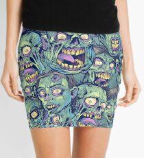 Zombie Repeatable Pattern Mini Skirt
