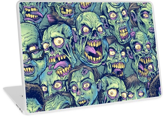Zombie Repeatable Pattern by Brian Allen
