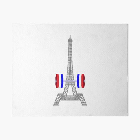 Tour Eiffel altérophile Impression rigide