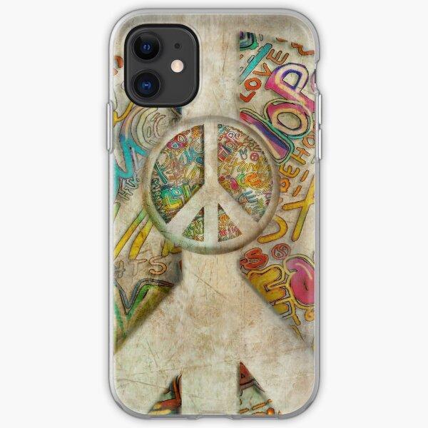 peace iphone case iPhone Soft Case