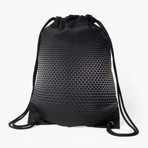 Smoke Titanium Mesh Legging Drawstring Bag