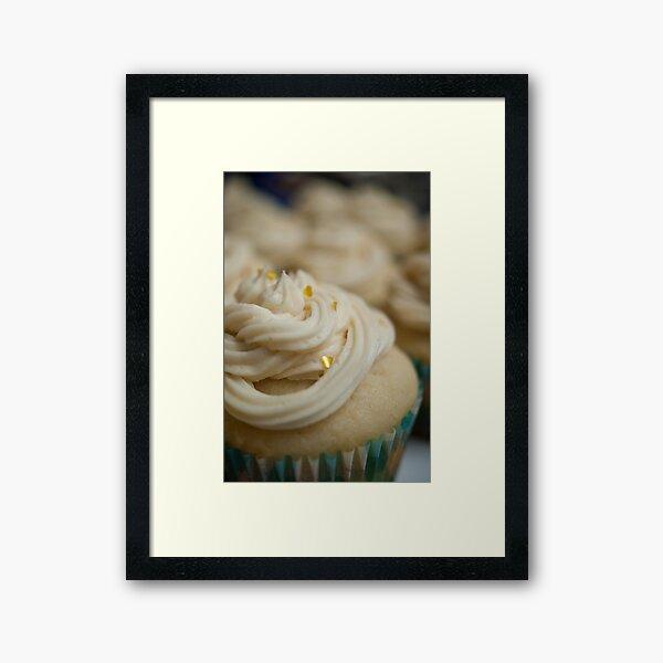 Celebration Cupcake Framed Art Print