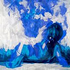 In blau träumen von linaji