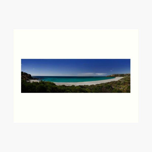 Snelling Beach, Kangaroo Island. Art Print