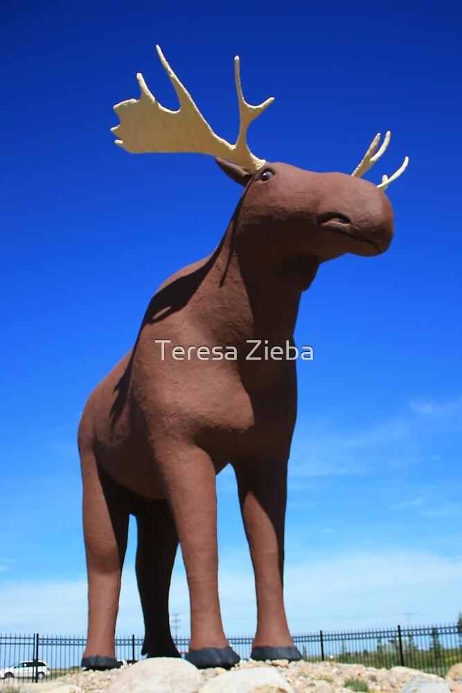 Mac the Moose, Moose Jaw, Saskatchewan by Teresa Zieba