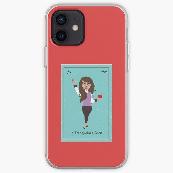 La Trabajadora Social Brunette iPhone Soft Case