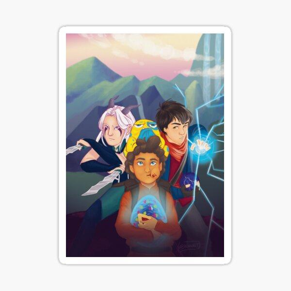 The Dragon Price Trio Sticker