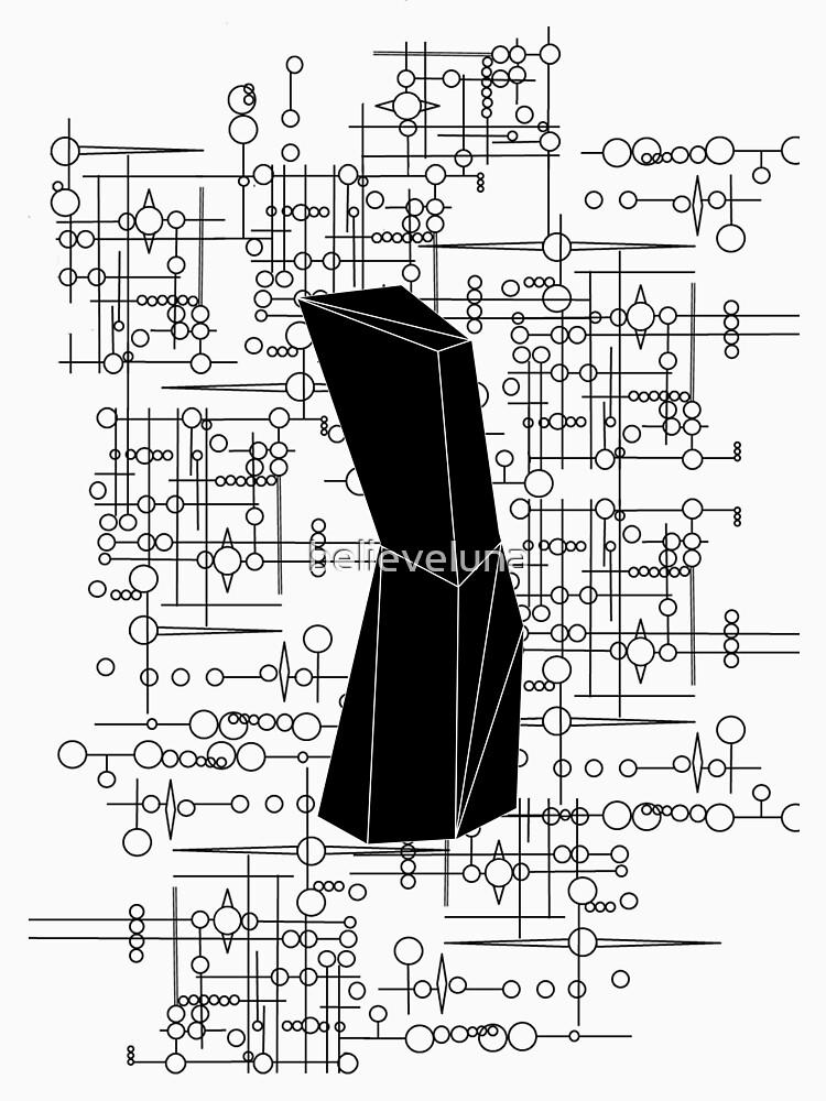 The Obelisk / The Diviner (Black) by believeluna