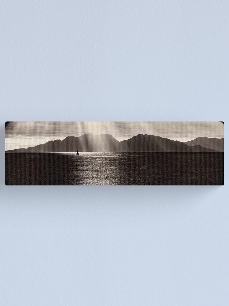 Alternate view of The Hazards, Coles Bay, Tasmania Canvas Print