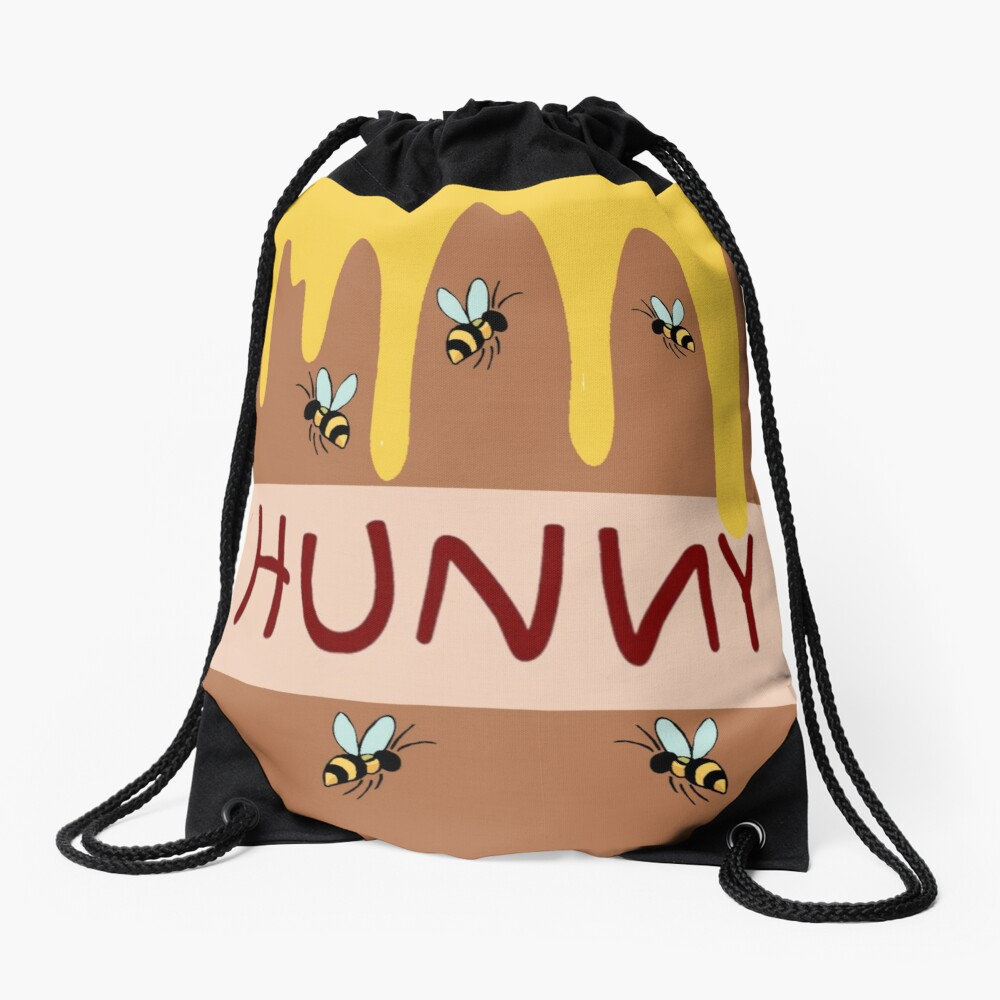 The Hunny Pot Drawstring Bag