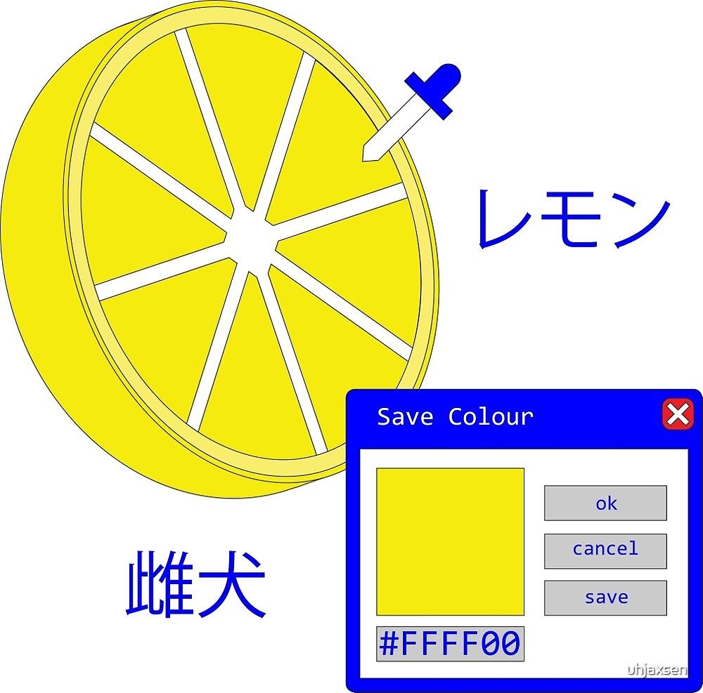 picking a lemon by uhjaxsen
