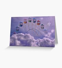 Carnival in the Clouds !! Greeting Card