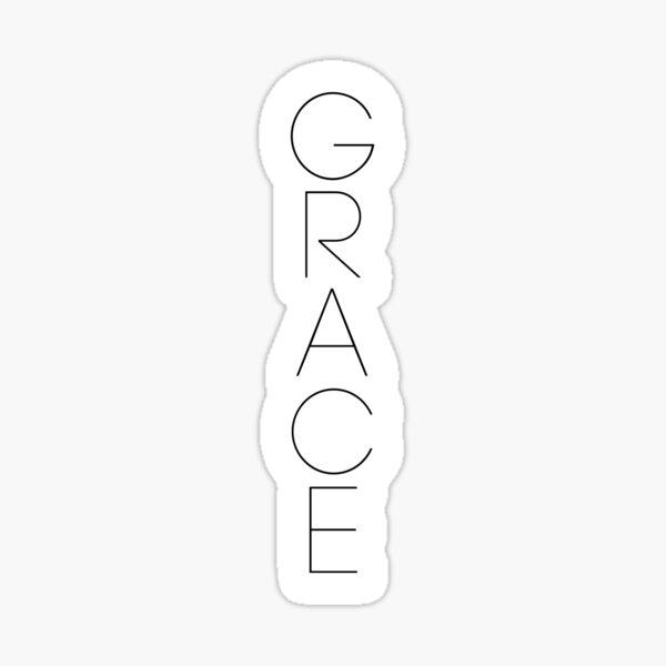 Grace Sticker
