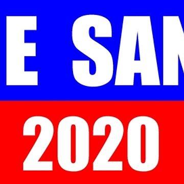 Bernie Sanders for President 2020 Sticker Decal Shirt Mug by merkraht