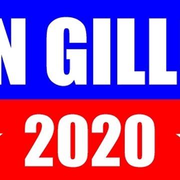 Kirsten Gillibrand for President 2020 Sticker Decal Shirt Mug by merkraht