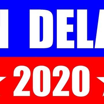 John Delaney for President 2020 Sticker Decal Shirt Mug by merkraht