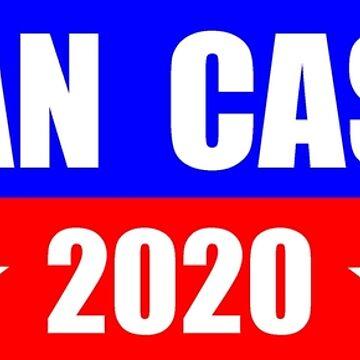 Julian Castro for President 2020 Sticker Decal Shirt Mug by merkraht