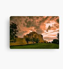 Cardston Alberta Temple Canvas Print