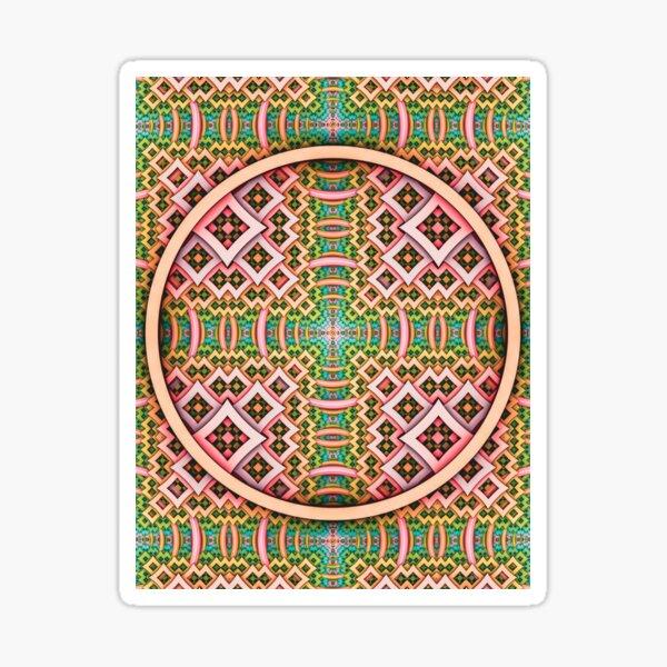 pOp. Trippy Abstract Pattern Design  Sticker