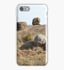 Balancing Rock Formations. Kopjes in Tanzania  iPhone Case/Skin